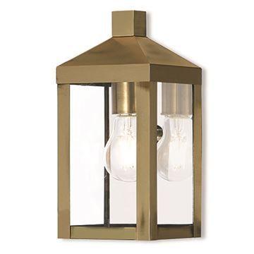 Livex Lighting Nyack 10 1/2 Inch Outdoor Wall Lantern