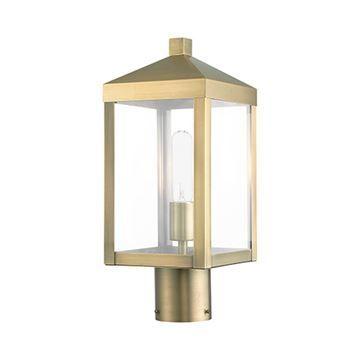 Livex Lighting Nyack 15 1/4 Inch Outdoor Post Top Lantern