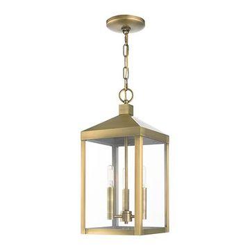 Livex Lighting Nyack 18 1/2 Inch Outdoor Pendant Lantern