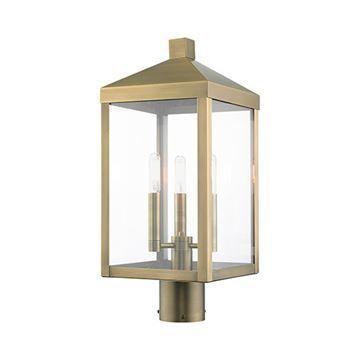 Livex Lighting Nyack 19 1/2 Inch Outdoor Post Top Lantern