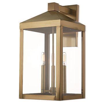 Livex Lighting Nyack 21 3/4 Inch Outdoor Wall Lantern