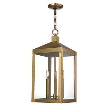 Livex Lighting Nyack 24 Inch Outdoor Pendant Lantern