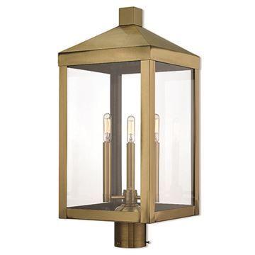 Livex Lighting Nyack 24 Inch Outdoor Post Top Lantern