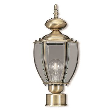 Livex Lighting Outdoor Basics Post Top Lantern