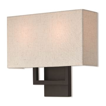 Livex Lighting Pierson 13 Inch Oatmeal Wall Sconce