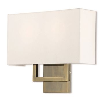 Livex Lighting Pierson 13 Inch Off White Wall Sconce