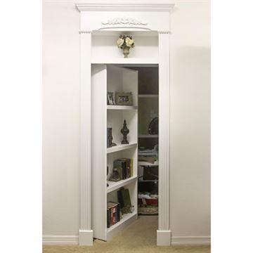 InvisiDoor Book Case and Hardware - 32 Inch Door