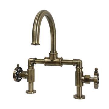 Restorers Belknap KS217XRX-P Bridge Bathroom Faucet