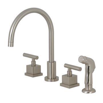 Restorers Claremont KS872XCQL-P Widespread Kitchen Faucet