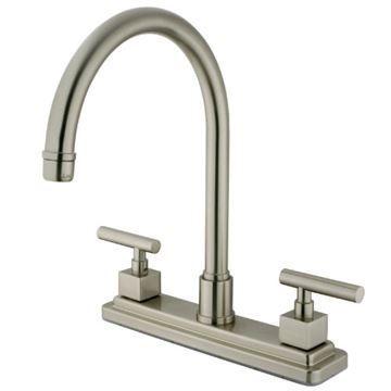 Restorers Claremont KS879XCQLLS-P Centerset Kitchen Faucet