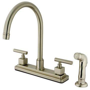 Restorers Claremont KS879XCQL-P Centerset Kitchen Faucet