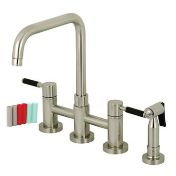 Restorers Concord KS828XDKLBS-P Bridge Kitchen Faucet