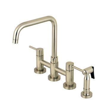 Restorers Concord KS828XDLBS-P Bridge Kitchen Faucet