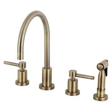 Restorers Concord KS872XDLBS-P Widespread Kitchen Faucet