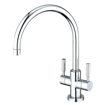 Restorers Concord KS877XDLLS-P Two Handle Single Hole Kitchen Faucet