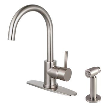 Restorers Concord LS857XDLBS-P One Handle Kitchen Faucet