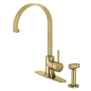 Restorers Concord LS871XDLBS-P One Handle Kitchen Faucet