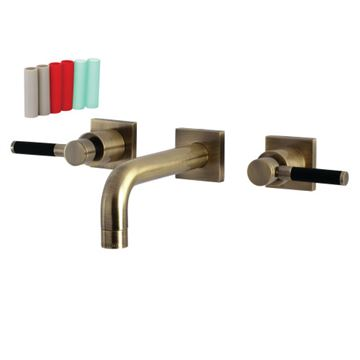 Restorers Kaiser KS612XDKL-P Wall Mount Bathroom Faucet