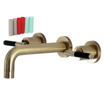 Restorers Kaiser KS812XCKL-P Wall Mount Bathroom Faucet