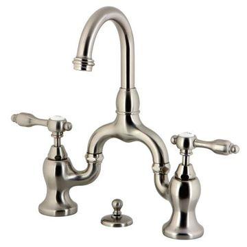 Restorers Tudor KS799XTAL-P Bridge Bathroom Faucet