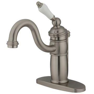 Restorers Victorian KB140XPL-P Single Hole Bathroom Faucet