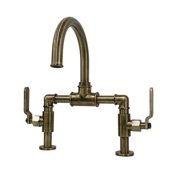 Restorers Whitaker KS217XKL-P Bridge Bathroom Faucet