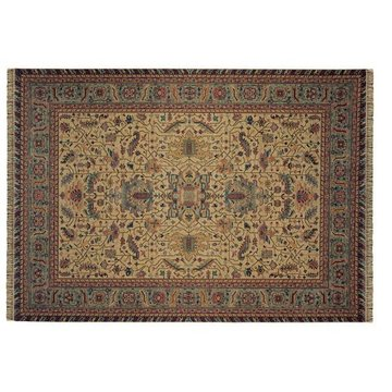 TAN W/GRN 67X99PATINA RUG  *DS*