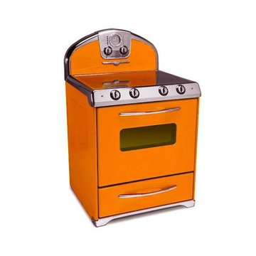 ORANGE 30 ELEC SMOOTH TOP STOVE 4-PRONG *DS*PPD