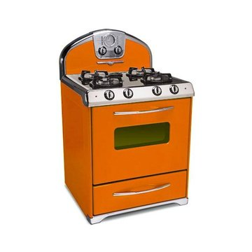ORANGE 30 DUAL FUEL STOVE 4-PRONG  *DS*PPD*