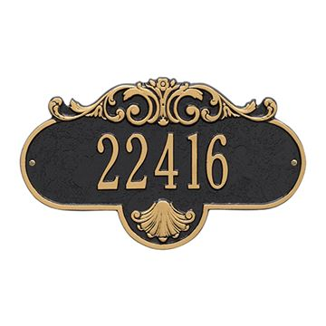 Whitehall Rochelle Personalized Address Plaque