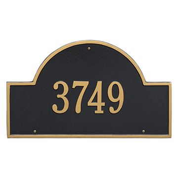 Whitehall Arch Marker Estate Personalized Plaque