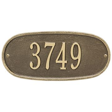 OVAL PERSONALIZED PLAQUE