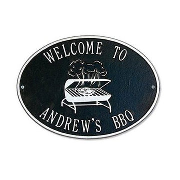 GRILL PERSONALIZED DECK PLAQUE