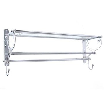 Restorers Bath and Kitchen Shelf and Towel Rack