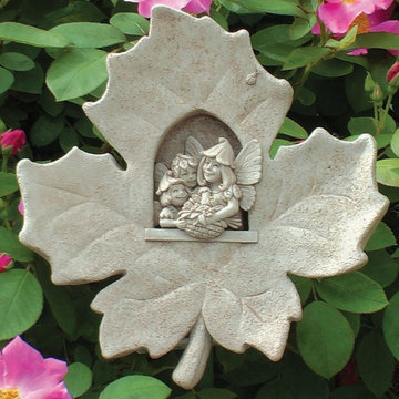 LEAF FAIRIES PLAQUE        *DS*