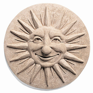 SUMMER SOLSTICE PLAQUE *DS*  11 DIA X 2 1/2PRJ