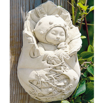 GARDEN PIXIE PLAQUE *DS