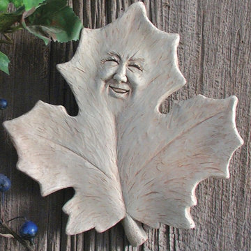 MABEL LEAF PLAQUE  *DS*