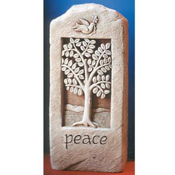 PEACE STONE PLAQUE    *DS*