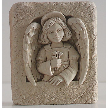 ANGEL MINI PLAQUE     *DS*
