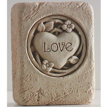 LOVE STONE MINI PLAQUE       *DS*