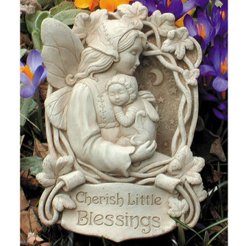 CHERISH LITTLE BLESSINGS PLAQUE  *DS*