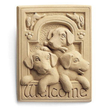 WELCOME PUPPIES PLAQUE*DS