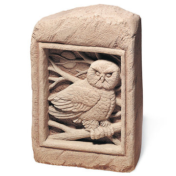 BARN  OWL STONE *DS*