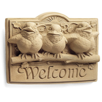 SUNSHINE BIRDS WELCOME PLAQUE        *DS*