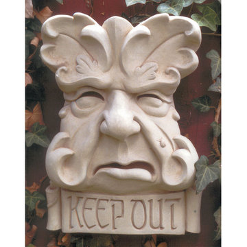 KEEP OUT PLAQUE      *DS*