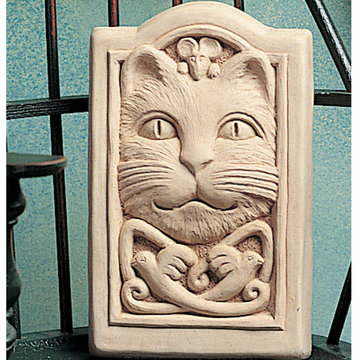 CELTIC CAT PLAQUE  *DS*