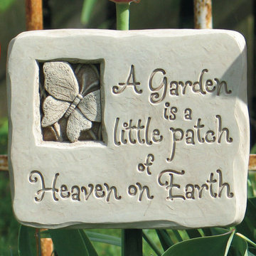 HEAVENLY GARDEN PLAQUE *DS*
