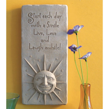 A SMILE A DAY PLAQUE *DS*