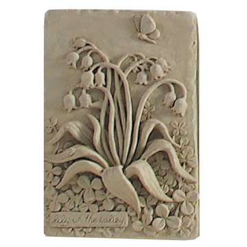 LILY OF THE VALLEY PLAQUE *DS*